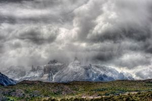 Developing Storm Torres de Paine