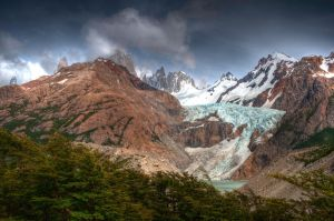 Glaciers of Mt. Fitzroy, Argentina