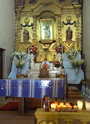 Oaxaca Church Alter