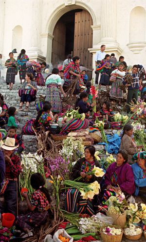 Chichicastenango Churchsteps, Lent