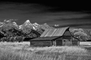 Morman Row Teton Barn
