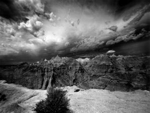 Storm over the Badlands
