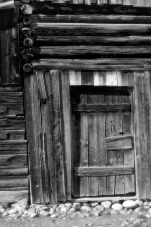 Mormon Row Barn Detail