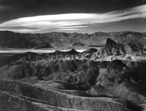 Zpoint Cloud Above Death Valley