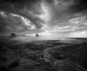 Epic Monument Valley Windstorm